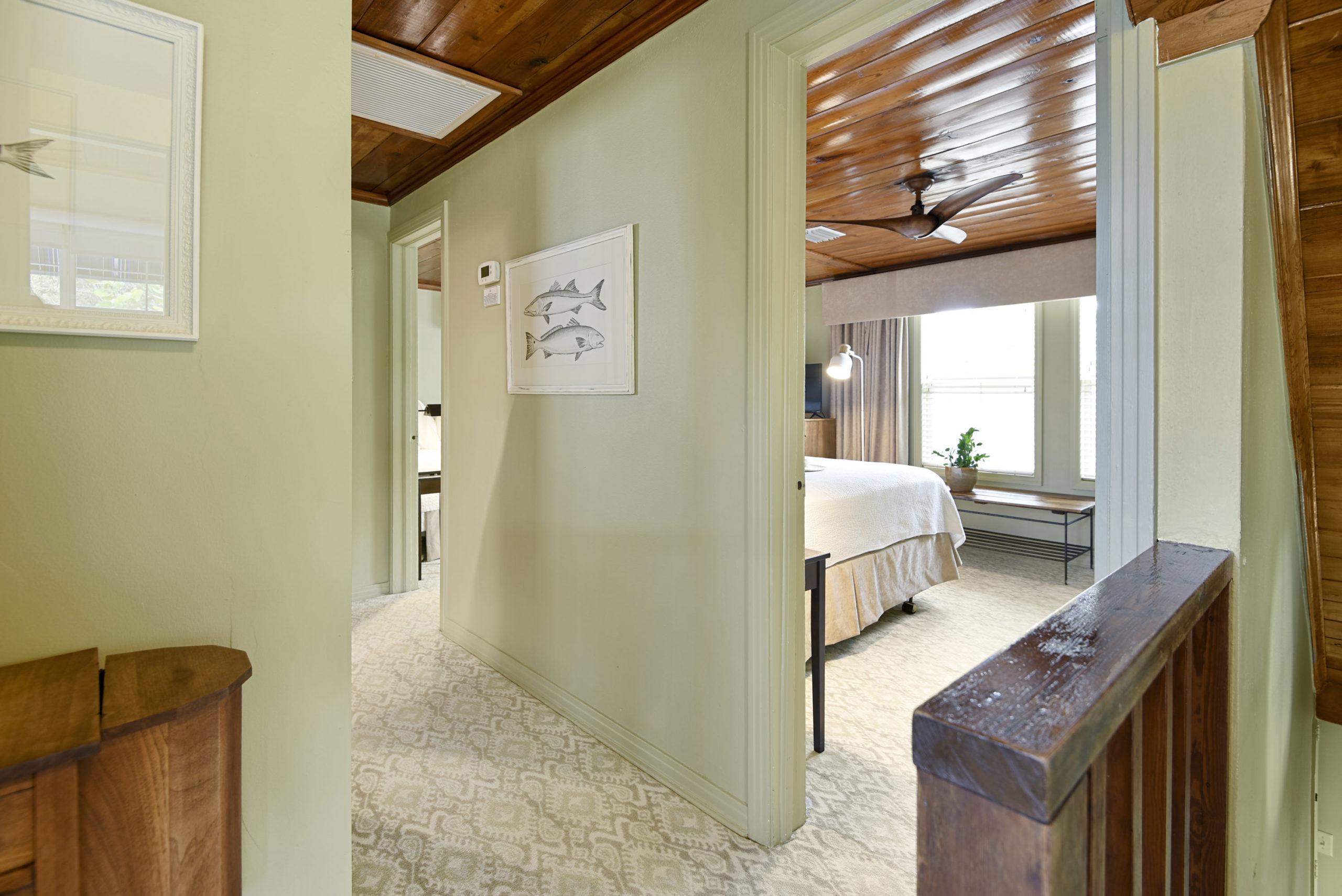 Shuffleboard Annex - Hallway & Bedroom